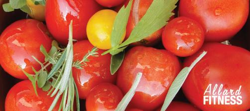 Super aliments Allard Fitness Gym Santé Tomates