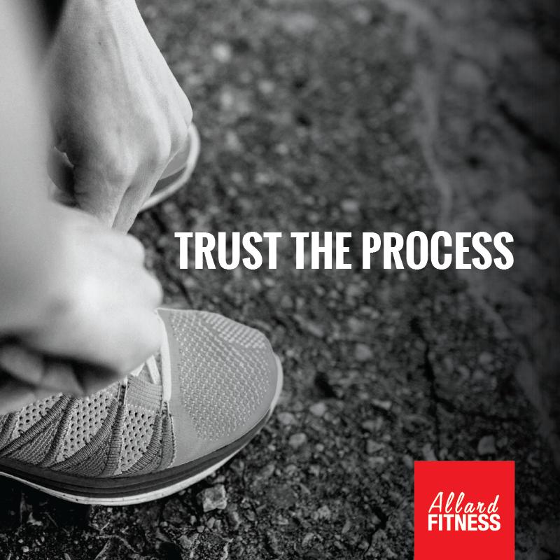 Trust the process Vero Regimbal Allard Fitness